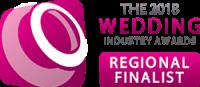The Wedding Industry Awards - Regional Finalist 2018